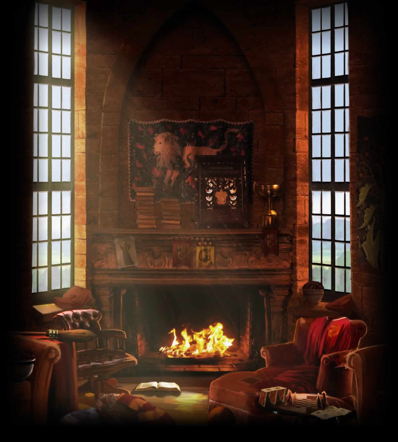 Gryffindor Common Room Pottermore Wiki Fandom