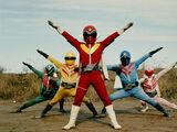 Mighty Morphin Star Rangers