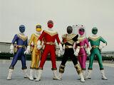 Power Rangers Zeo (My Version)