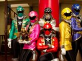 Power Rangers Pirate Force (My Version)