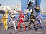 Power Rangers Dino Thunder (My Version)