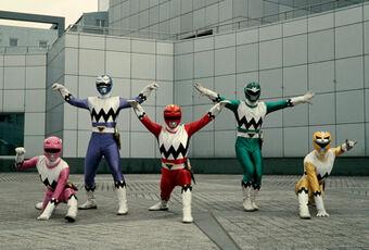 Power Rangers La Galaxia Perdida Power Rangers En Español Wiki Fandom