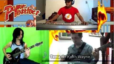 Power Instinct - Keith Wayne Theme (GuitarDreamer, Murilord e Max Albuquerque)