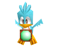 Birdie 3D model