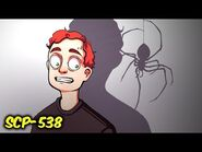 Shadow Spiders SCP-538 (SCP Animation)