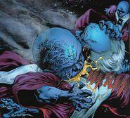 DC Comics Scar as a Zombie Lord