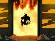 Shredder (Teenage Mutant Ninja Turtles) fire immunity
