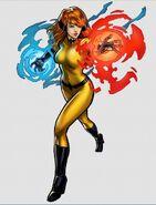 Crystalia Amaquelin Crystal (Marvel Comics) Elemental Defense