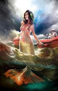 Mermaid save people