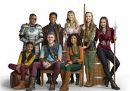 The Main cast of Knight Squad