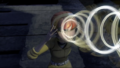 April using her mind link powers