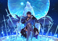 Esdeath (Akame Ga Kill!) throne