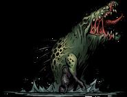 Crocodilian Darkest Dungeon