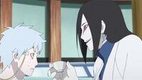 Orochimaru and Mitsuki