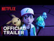 Pokémon - Mewtwo Strikes Back — Evolution - Official Trailer - Netflix