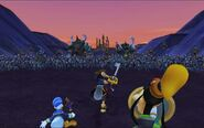 Battle of the 1000 Heartless