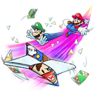 Mario and Luigi Paper Jam Trio Attack