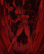 Eliza (Skullgirls) Bloody