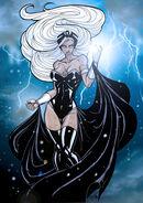 Ororo Munroe Storm (Marvel Comics) contrast