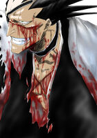 Zaraki Kenpachi (Bleach) Cut Up
