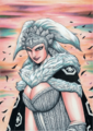 Ka Rin, the Heroic Woman Commander of the Land of Chu Kingdom
