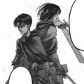 Levi and Mikasa Ackerman