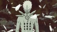 Obito Uchiha (Naruto) seals the Ten-Tails