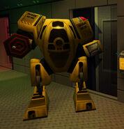 System Shock 2 Maintenance Robot