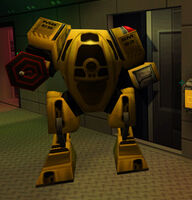 System Shock 2 Maintenance Robot