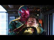 Scarlet Witch and Hawkeye Vs Vision - Fight Scene - Captain America Civil War (2016) Movie CLIP 4K