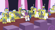 Shining Armor, Captain of the Royal Guard S02E25