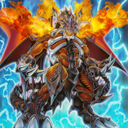Archfeind Black Skull Dragon