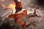 Mesopotamian-God Marduk