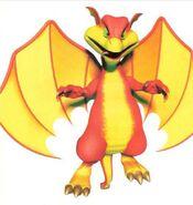 Smokey the Dragon