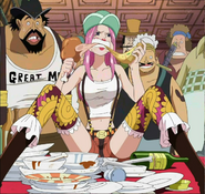 Bonney eating