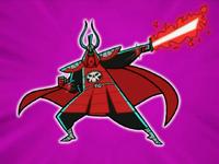 DP S02M03 Scarlet Samurai full view