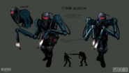 System Shock Series Cyborg Assassin