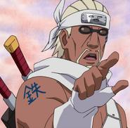 Killer Bee (Naruto) Tekkofuin Steel Shell Seal