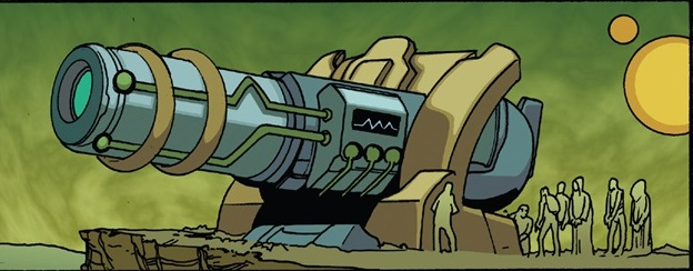 Antimatter Artillery