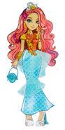Meeshell Mermaid Profile Art HQ