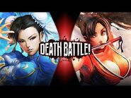 Chun-Li VS Mai Shiranui (Street Fighter VS King of Fighters) - DEATH BATTLE!