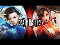 Chun-Li VS Mai Shiranui (Street Fighter VS King of Fighters) - DEATH BATTLE!