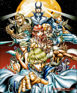 Terra Formars Deceased Characters