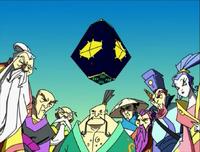 Eight immortals & PanKu box (Jackie Chan Adventures)