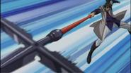 Genji wielding Gekisen