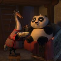 Mr Ping and Baby Po