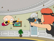 Stewie vs. Lois Shootout