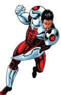 Adrian Corbo (Earth-616) from Official Handbook of the Marvel Universe A-Z Vol 1 4