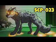 Black Shuck - SCP-023 (SCP Animation)