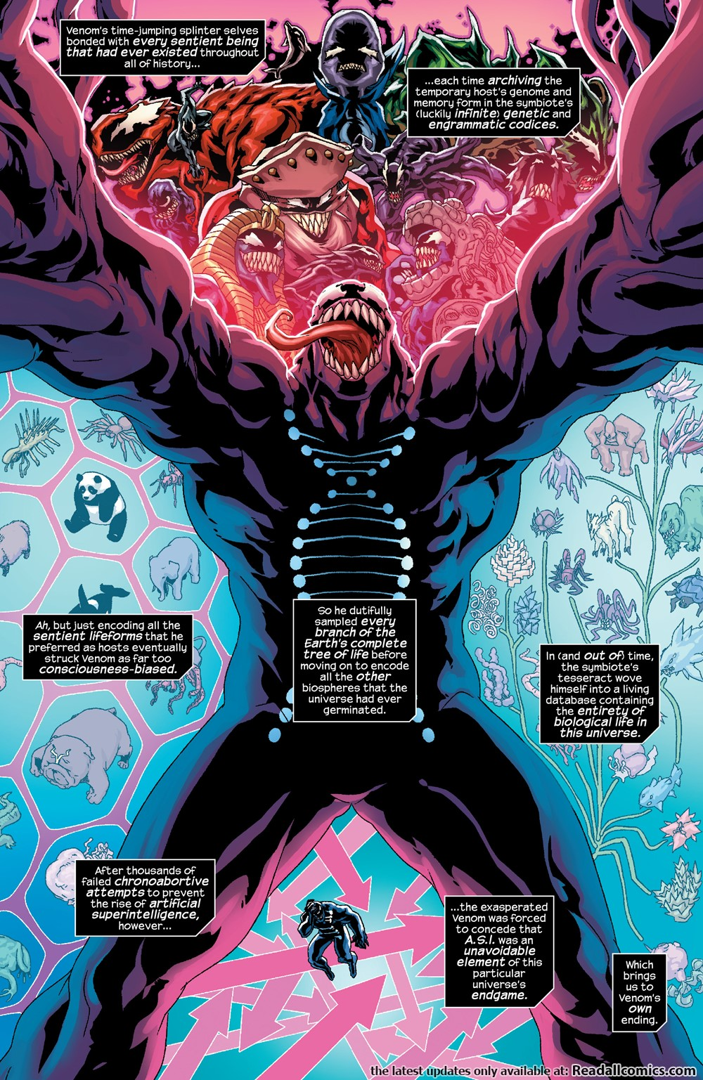 Transcendent Symbiote Physiology
